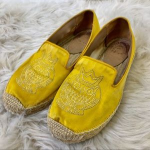 Marc by Marc Jacobs Yellow Satin Eapadrilles. 8
